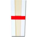 剣先型 木札 袴・赤帯掛け 8寸