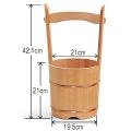 木製 手桶<大>