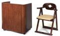 椅子付き 折畳 演台