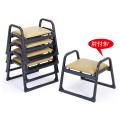 アルミ製 本堂用 椅子肘付き型・背もたれなし・小寸