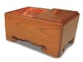 本欅 角香炉 8寸タイプ