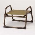 アルミ製 背もたれなし椅子<飛天> 小寸