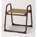 アルミ製 背もたれなし椅子<飛天> 大寸