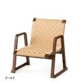 木製 背付き お詣り椅子<飛鳥> 低座面(座面高28cm)・ゴールド