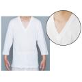 和装 V襟 Tシャツ 七分袖 2枚組