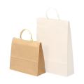 寺名・社名入り 紙袋 ヨコ型 ベージュ