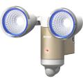 ソーラー発電式 LED ソーラーセンサーライト 3W×2LED 〈S-65L〉