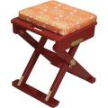 折畳式 軽便椅子「おともにいーす」 朱塗金襴