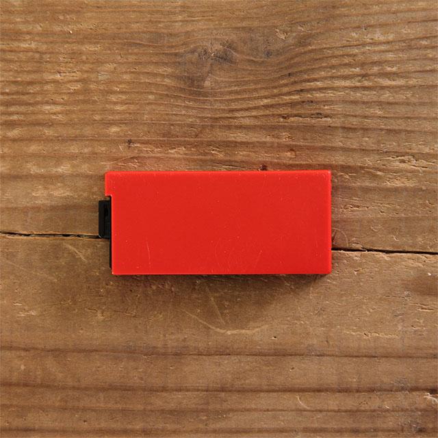 シャイニー オーダーネームスタンプ/DIYセット 交換パッド:S-723-7 赤