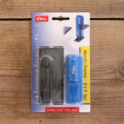 シャイニー DIYセット S-773 インク黒 本体ブルー
