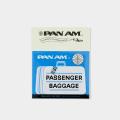 TF スーツケースステッカー パンナム バゲッジラベル柄 (07100257)