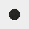 TF レザーコースター サークル 黒 (07100565)
