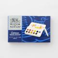 WINSOR&NEWTON コットマン ハーフパン12色セット 水筆ペン付き (07150662)