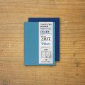 トラベラーズノート パスポートサイズ リフィル 2017 週間 (14378006)