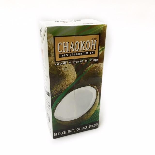 大人気!タイ料理 ココナッツクリーム (チャオコー)パック1L