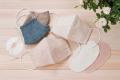 シルクinマスク(柿染め/藍染め)&マスクインガーゼ (アルデバラン)