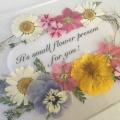セミナー 4/2開催 サロンに飾れる押し花クラフト講座