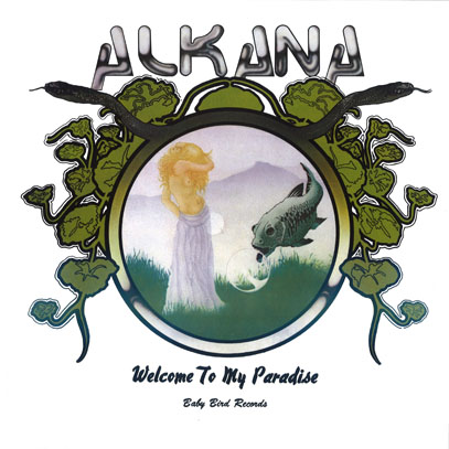 ALKANA/Welcome To My Paradise(LP) (1978/only) (アルカナ/USA)
