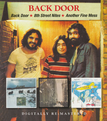 BACK DOOR/Same + 8th Street Nites + Another Fine Mess (1972+73+74/1+2+3th) (バック・ドア/UK)