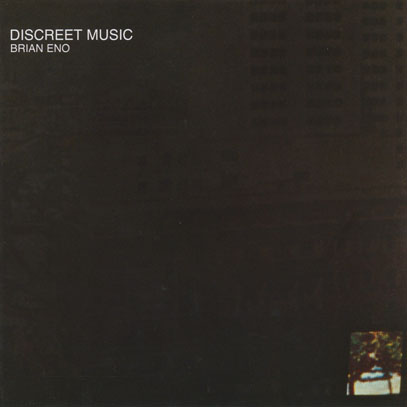 BRIAN ENO/Discreet Music (1975/4th) (ブライアン・イーノ/UK)