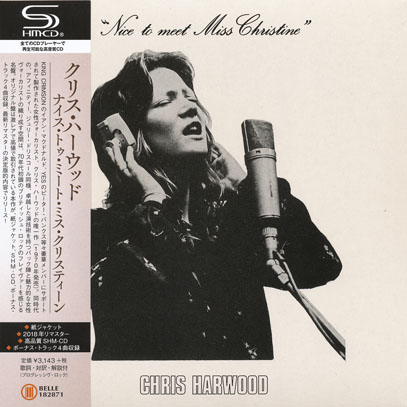 CHRIS HARWOOD/Nice To Meet Miss Christine(ナイス・トゥ・ミート〜) (1971/only) (クリス・ハーウッド/UK)