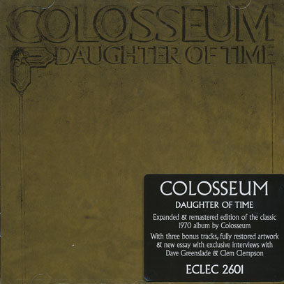 COLOSSEUM/Daughter Of Time (1970/3rd) (コロシアム/UK)