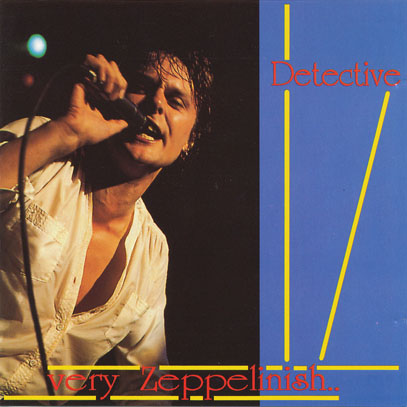DETECTIVE/Very Zeppelinish(Used CD) (1978/Unreleased Live) (ディテクティヴ/UK,USA)