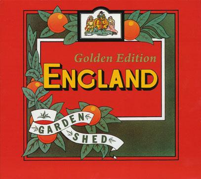 ENGLAND/Garden Shed: Golden 2CD Edition(ガーデン・シェッド: ゴールデン・エディション) (1977/only+bonusCD) (イングランド/UK)