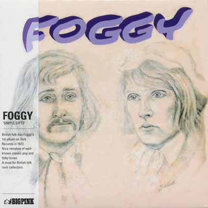 FOGGY/Simple Gifts (1972/1st) (フォギー/UK)
