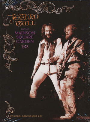 JETHRO TULL/Live At Madison Square Garden 1978(DVD+CD) (1978/Live) (ジェスロ・タル/UK)