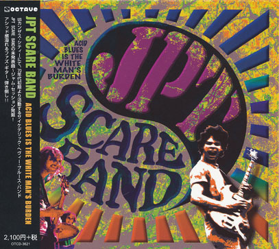 JPT SCARE BAND/Acid Blues Is The Whiteman's Burden(アシッド・ブルース・イズ〜)(Used CD) (2010) (JPTスケア・バンド/USA)