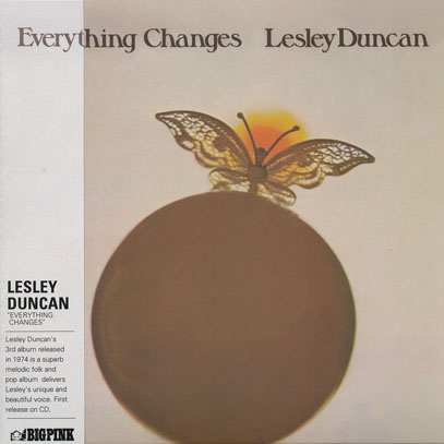 LESLEY DUNCAN/Everything Changes (1974/3rd) (レズリー・ダンカン/UK)