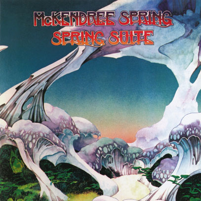 McKENDREE SPRING/Spring Suite (1973/5th) (マッケンドリー・スプリング/UK,USA)