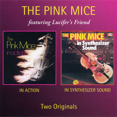 THE PINK MICE/In Action + In Synthesizer Sound (1971+73/1+2th) (ピンク・マイス/German)