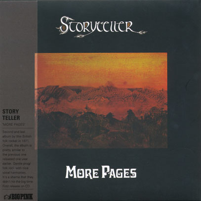 STORYTELLER/More Pages (1971/2nd) (ストーリーテラー/UK)