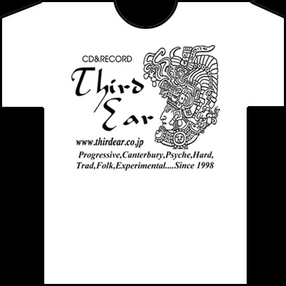 サード・イアー・TシャツA(白)/Third Ear T-Shirt Type A(White)