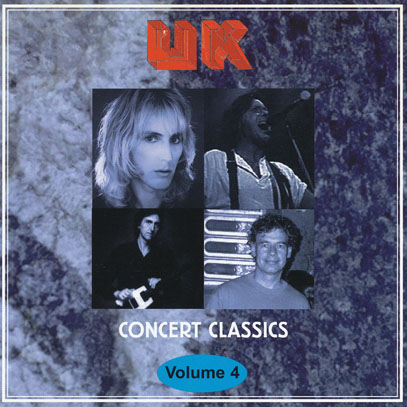 U.K./Concert Classics Vol.4(Used CD) (1978/Live) (ユーケー/UK,USA)