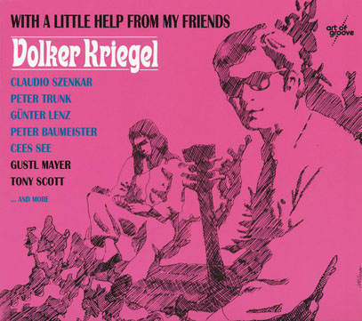 VOLKER KRIEGEL/With A Little Help From My Friends(Used CD) (1968/1st) (フォルカー・クリーゲル/German)