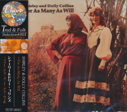 SHIRLEY & DOLLY COLLINS/For As Many As Will(フォー・アズ・メニー・アズ・ウィル) (1978/3rd) (シャーリー&ドリー・コリンズ/UK)