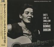 BONNIE DOBSON/She's Like A Swallow(���������饤������������?) (1961/1st) (�ܥˡ����ɥ֥���/Canada,UK)