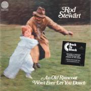 ROD STEWART/An Old Raincoat Won't Ever Let You Down(LP) (1970/1st) (��åɡ���������/UK)