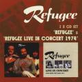 REFUGEE/Same + Live In Concert 1974 (1974/only+Live) (レフュジー/UK)