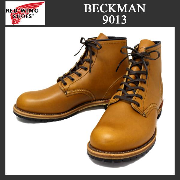 正規代理店 REDWING レッドウイング 9013 BECKMAN ROUND BOOTS(ベックマンブーツ)CHESTNUT チェスナット