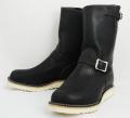 Wesco���������������ǥ����顼 Boss �ܥ� Black �֥�å�,9height,#1010 sole, Nickle Buckle�˥å���Хå���
