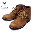 正規取扱 AVIREX U.S.A.(アビレックス) AV2931 TIGER(タイガー) バイカースタイルミッドブーツ CRAZY HORSE クレイジーホース
