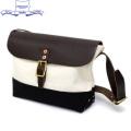 �����谷Ź HERITAGE LEATHER CO.(�إ�ơ����쥶��) NO.8036 Mini Shoulder Bag(�ߥ˥��������Хå�) Natural/Black HL048