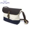 �����谷Ź HERITAGE LEATHER CO.(�إ�ơ����쥶��) NO.8036 Mini Shoulder Bag(�ߥ˥��������Хå�) Natural/Navy HL050