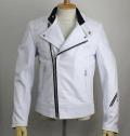 �����谷ŹLewis Leather(�륤���쥶��)��No.445��SUPER MONZA(�����ѡ����)��WHITE �ۥ磻��