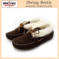 �����谷Ź MINNETONKA(�ߥͥȥ�) Chrissy Bootie(����å����֡��ƥ�) #40032 CHOCOLATE ��ǥ����� MT041