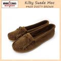 �����谷Ź MINNETONKA(�ߥͥȥ�) Kilty Suede Moc(����ƥ����������ɥ�å�) #403 DUSTYBROWN ��ǥ����� MT039